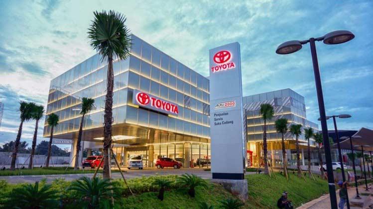 Dealer Toyota Pancing