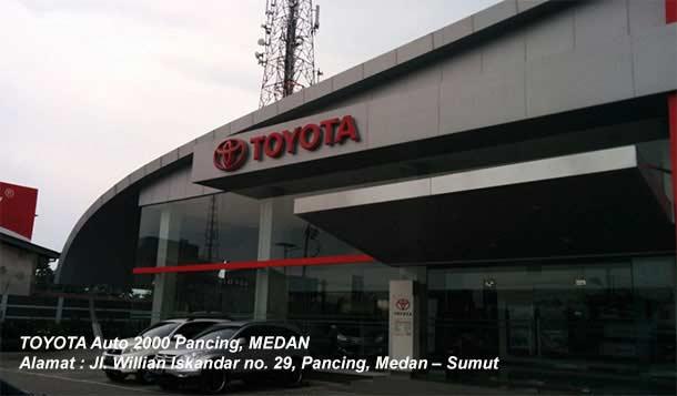 Dealer Toyota Auto2000 Pancing, Medan