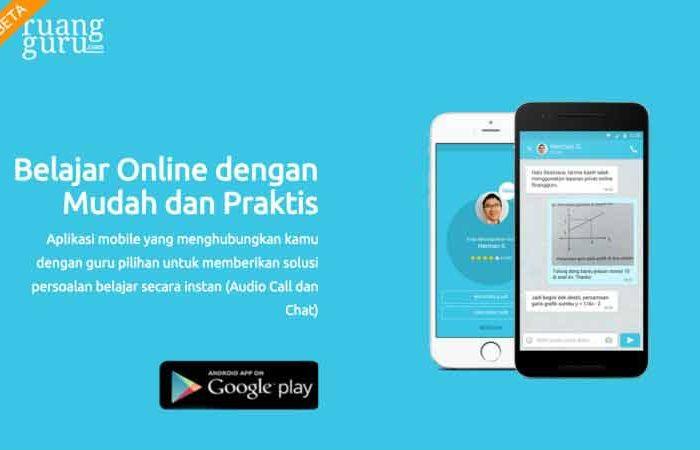 Aplikasi Bimbel Online Ruangguru