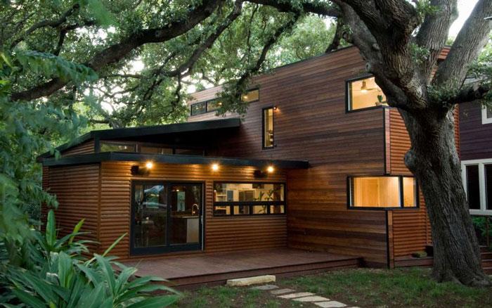 Rumah Minimalis dengan Sentuhan Natural