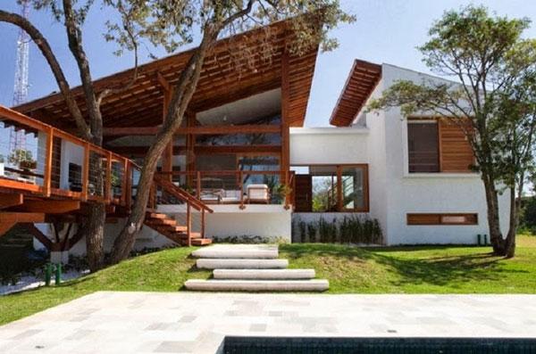 Rumah Minimalis dengan Ventilasi yang Cukup