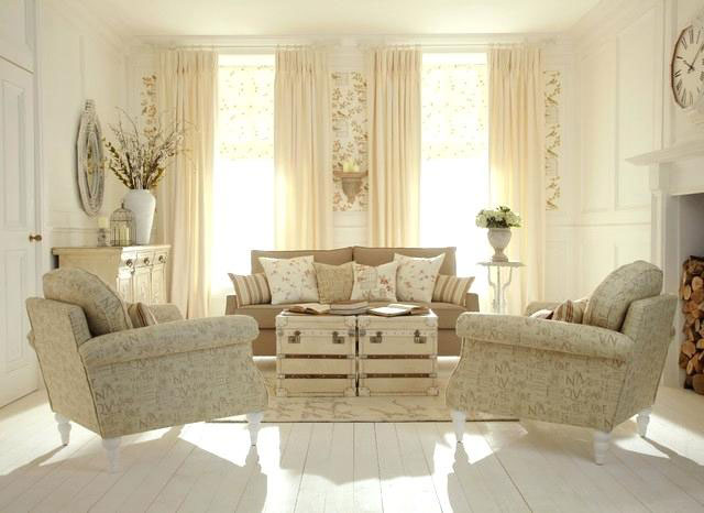 Dengan Gorden Shabby, Ruangan jadi Indah dan Elegan